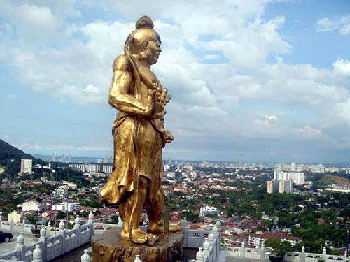 马来西亚槟城寺庙一览_马来西亚风景图片大全_中国