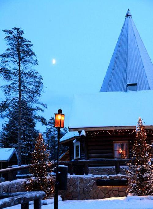 芬兰圣诞老人村_芬兰风景图片大全_中国国旅(上海)
