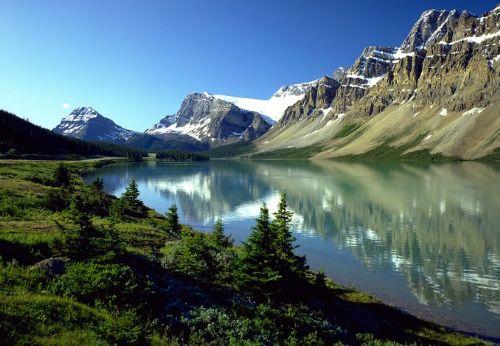 仙境小镇加拿大班芙_加拿大风景图片大全_中国国旅