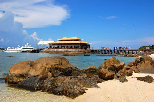 风景图片大全 海南 三亚 -> 蜈支洲岛:美丽的爱情之岛