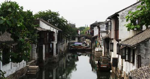 周庄:灵秀的水乡风貌_周庄风景图片大全_中国国旅