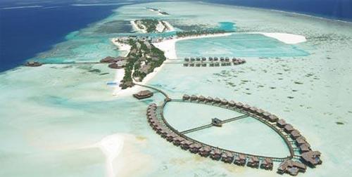 浪漫的马尔代夫双鱼岛