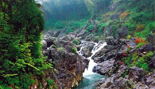 温州泽雅风景区图片