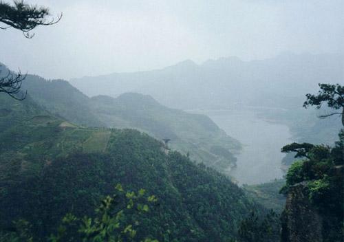 风景图片大全 浙江 宁波 -> 奉化溪口雪窦山风景