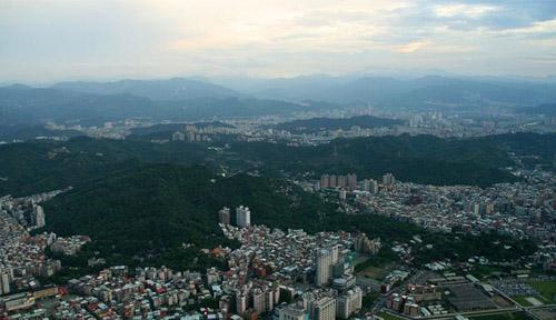 101俯瞰台北全景_台湾风景图片大全_中国国旅(上海)