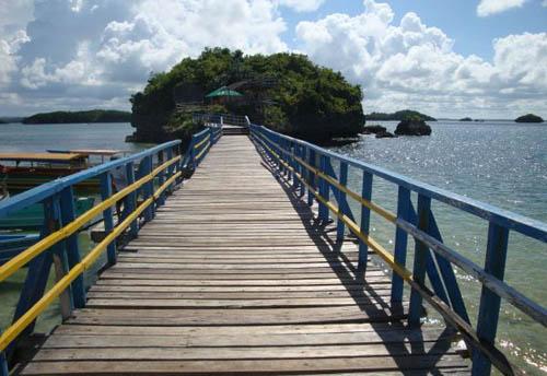 菲律宾 海上奇景百岛国家公园