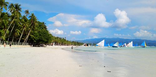 菲律宾长滩岛特色——海滩沙雕