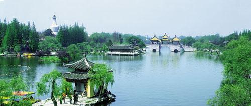 风景图集:江苏瘦西湖风景美图