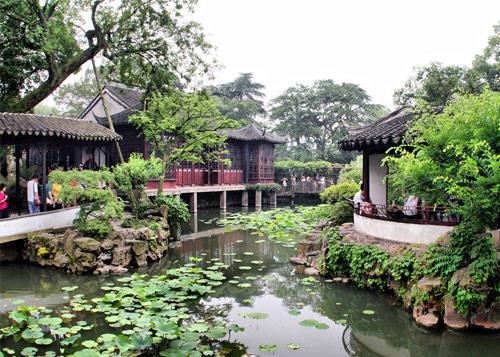 苏州拙政园图片_苏州风景图片大全_中国国旅(上海)
