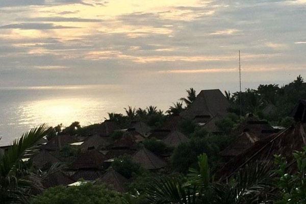 杨幂刘恺威巴厘岛婚礼酒店图片
