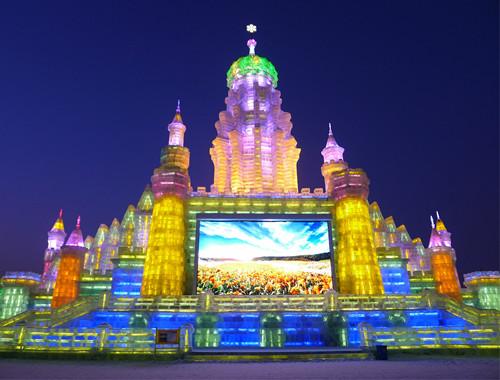 哈尔滨雪乡风景图片大全