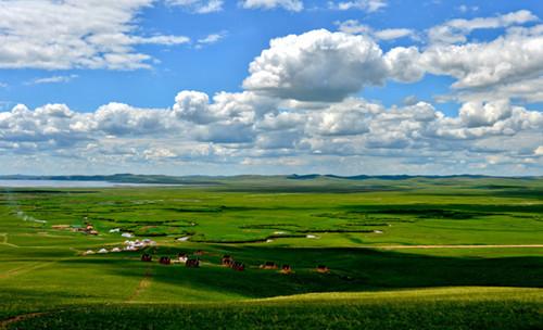 乌拉盖草原图片欣赏_内蒙古风景图片大全